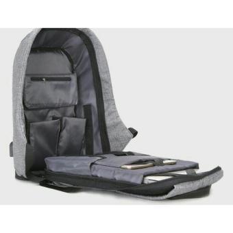 Smart Backpack Plus Tas Anti Maling Plus Sling Bag - Daftar Harga ... 5f12226636