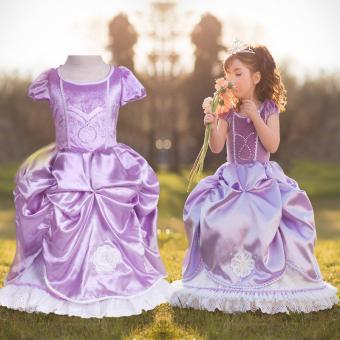 harga Sofia Princess Ungu Pakaian Anak Cewek Pakaian Anak Baju KostumBunga Pesta Pernikahan Lazada.co.id
