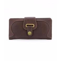Sophie Paris Dompet Kulit Wanita Neo Strap Wallet DSM783 - Cokelat