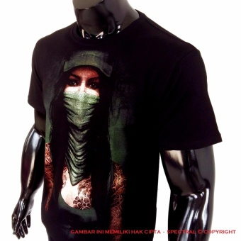 Spectral - Kaos Distro T-Shirt Distro Fashion 100% Soft Cotton .