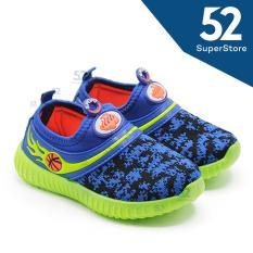Sport Sepatu Sneakers Anak 1608-09 - Navy 26-31