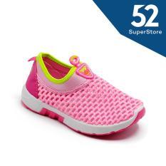 Sport Sepatu Sneakers Anak 1706-388 - Pink Size 31-36