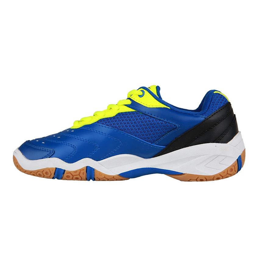 Belanja murah Spotec Double Hit Sepatu Badminton - Hijau Cerah Biru ... fdc96efab1