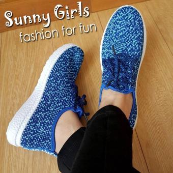 Sunny Girls Helena Sepatu Sneakers Wanita - 1081 Blue