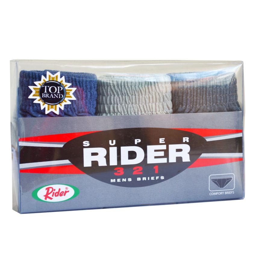 Super Rider R321B Brief - 3 pcs - Multicolor - Celana Dalam Pria