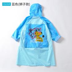 Surga luar ruangan anak-anak kecil anak ponco siswa jas hujan jas hujan (Biru