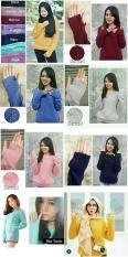 Sweater (Allsize - Fit XXL) NELA - Katun Rajut
