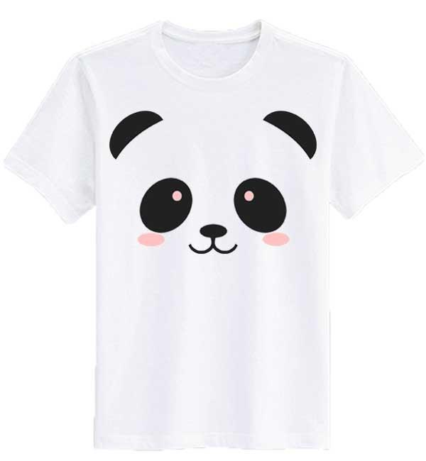 Sz Graphics Lovely Panda T Shirt Pria Wanita Kaos Pria Wanita Putih Lazada .