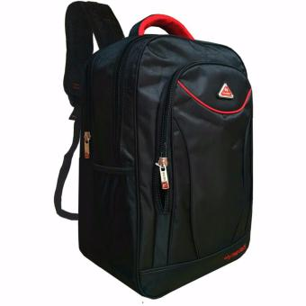 Tas Ransel Polo Net Embos 002A Original-Black+Raincover
