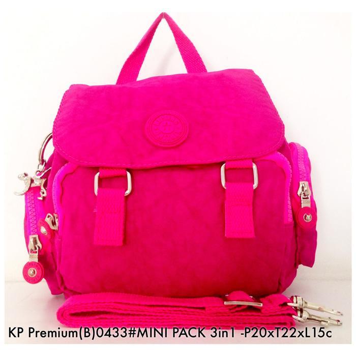 Flash Sale Tas Ransel Wanita Kipling Backpack Mini 3 in 1 0433 - 3 b1e057763c