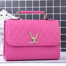 Tas Selempang Import Wanita Korea - Handbag Pink