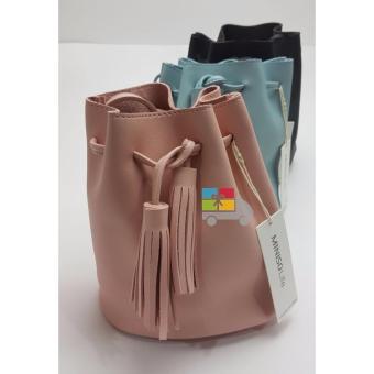Tas Selempang Miniso / Bucket Bag Miniso Black