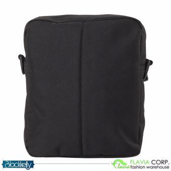 Tas Selempang Pria Mini Sling Bag LOZ 893 Black Grey - 4
