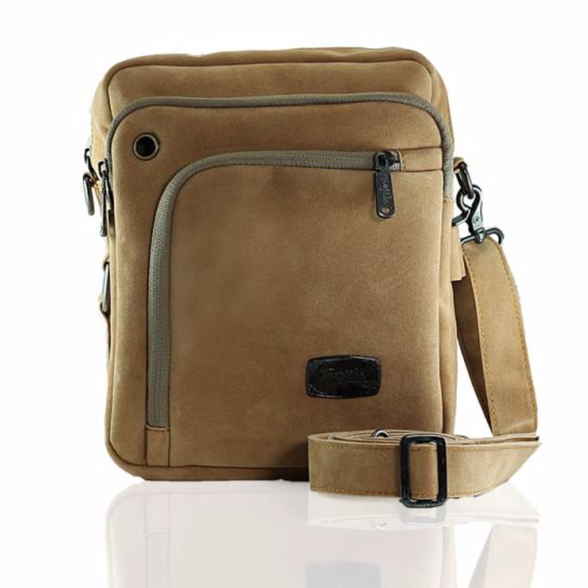 Uncle Star Men Canvas Vintage Messenger Practical Multi Pocket Tool Source · Tas Selempang Pria Trojika T MAN Damaskus Tas Travel Bags Trojika T MAN