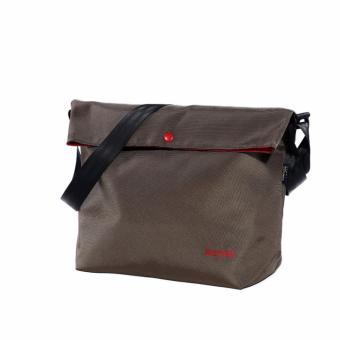 Tas Selempang Pria Wanita Shoulder Bag Unisex Tas Fashion Notebook - Hijau Army