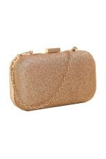Tas Tangan dengan Tali Rantai untuk Pesta (Emas)