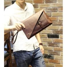 Tas tangan Handbag pria Clutch bag Tas tangan kulit import 9605
