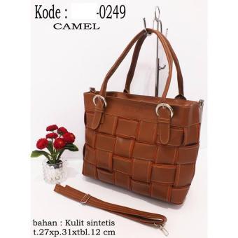 Tas Tw Wanita 0249 Tikar Camel Zara.