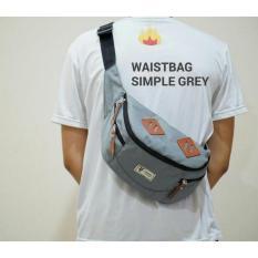 Carboni Waistbag 2 in 1 AA00023-10 Ransel Tali Satu Dan Ransel Tali Dua+ Original