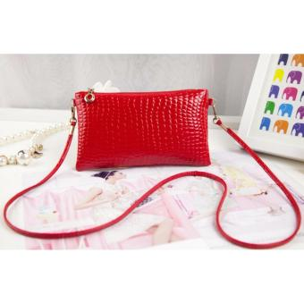 Tas Wanita Small Crocodile 02 Kulit Sintetis Womens Fashion Bag PU Leather -