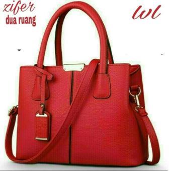 Tas Wanita Trendy Lestari Fashion Ts&B 019 zifer Red