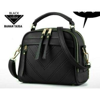 Tas Wanita Trendy Milano Tikar Lestari Fashion Ts&B 038 Black
