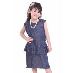 TDLR Dress Anak Perempuan / Baju Setelan Anak Perempuan - Bahan Cotton -