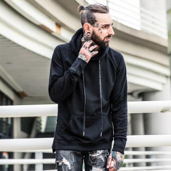 Tide Merek Di Eropa atau Amerika Beberapa Laki-laki Yang Longgar Jaket Berkerudung Sweater (