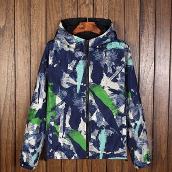 Harga baru Tide merek Korea Pria Musim Semi dan Gugur mahasiswa tampan jaket mantel musim gugur