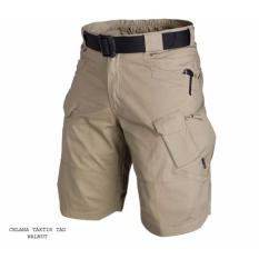 TjinCollection-Celana Tactical Blackhawk Pendek PDL Kargo ShortPants [Krem]