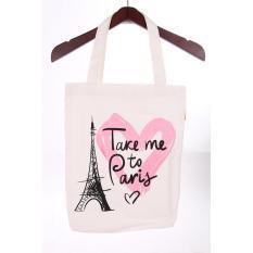 Tonga Tote Bag KNV001PS - Love Paris