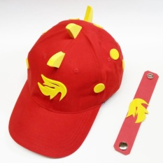 Topi Boboiboy Api Size M + Gelang