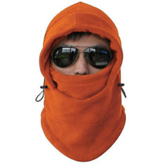 ... Collagen Masker Kupluk Helm Buff Topi Syal Scarf Motor Camping Gunung Polar 6 in 1 Abu