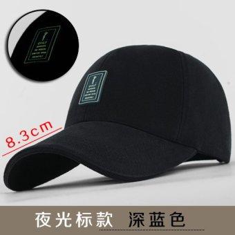 Topi Pria Topi Baseball ([[Yeguang standar] biru tua) ([[