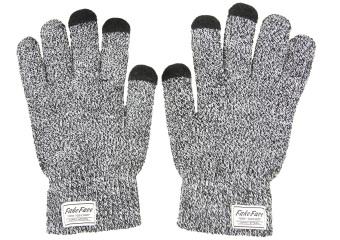 Touchscreen Sarung Tangan Pria Wanita Menenun Menebal dengan Beludru Hangat Sarung Tangan Sarung Tangan Musim Dingin
