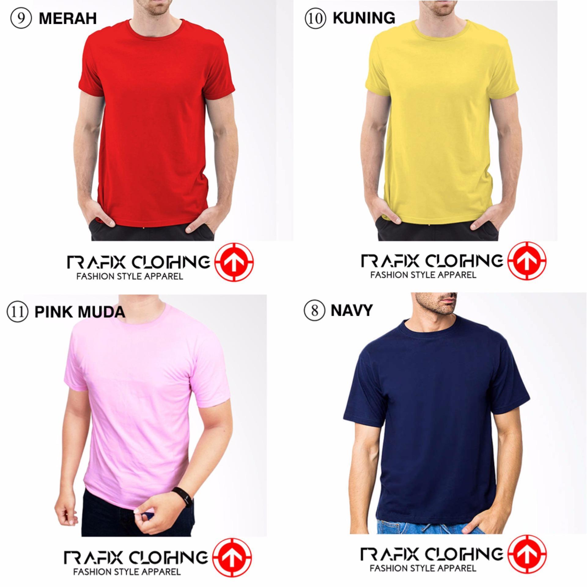 Kaos Polos Two Tune Pria T Shirt By Hnr Soerabaja Hitam Misty Navy Source Atasan