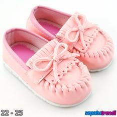 TrendiShoes Sepatu Anak Bayi Perempuan Pita Elegan JVNRJT - Pink