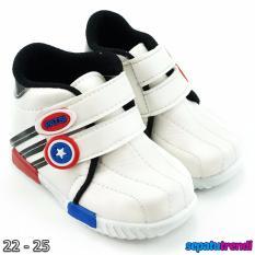 TrendiShoes Sepatu Anak Laki-Laki Sport High Cut Semi Boot JBK - Hitam