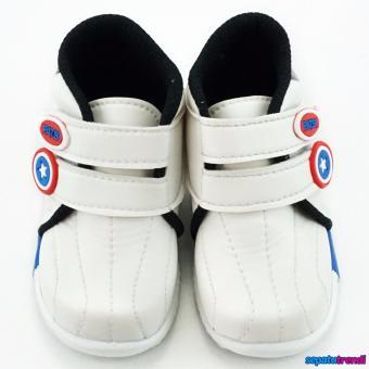 TrendiShoes Sepatu Anak Laki-Laki Sport High Cut Semi Boot JBK -Hitam - 2