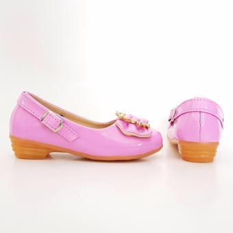 TrendiShoes Sepatu Anak Perempuan Cantik LNHK - Pink - 3 .
