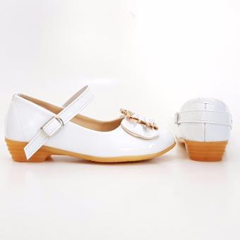 ... TrendiShoes Sepatu Anak Perempuan Cantik LNHK - Putih - 3 ...