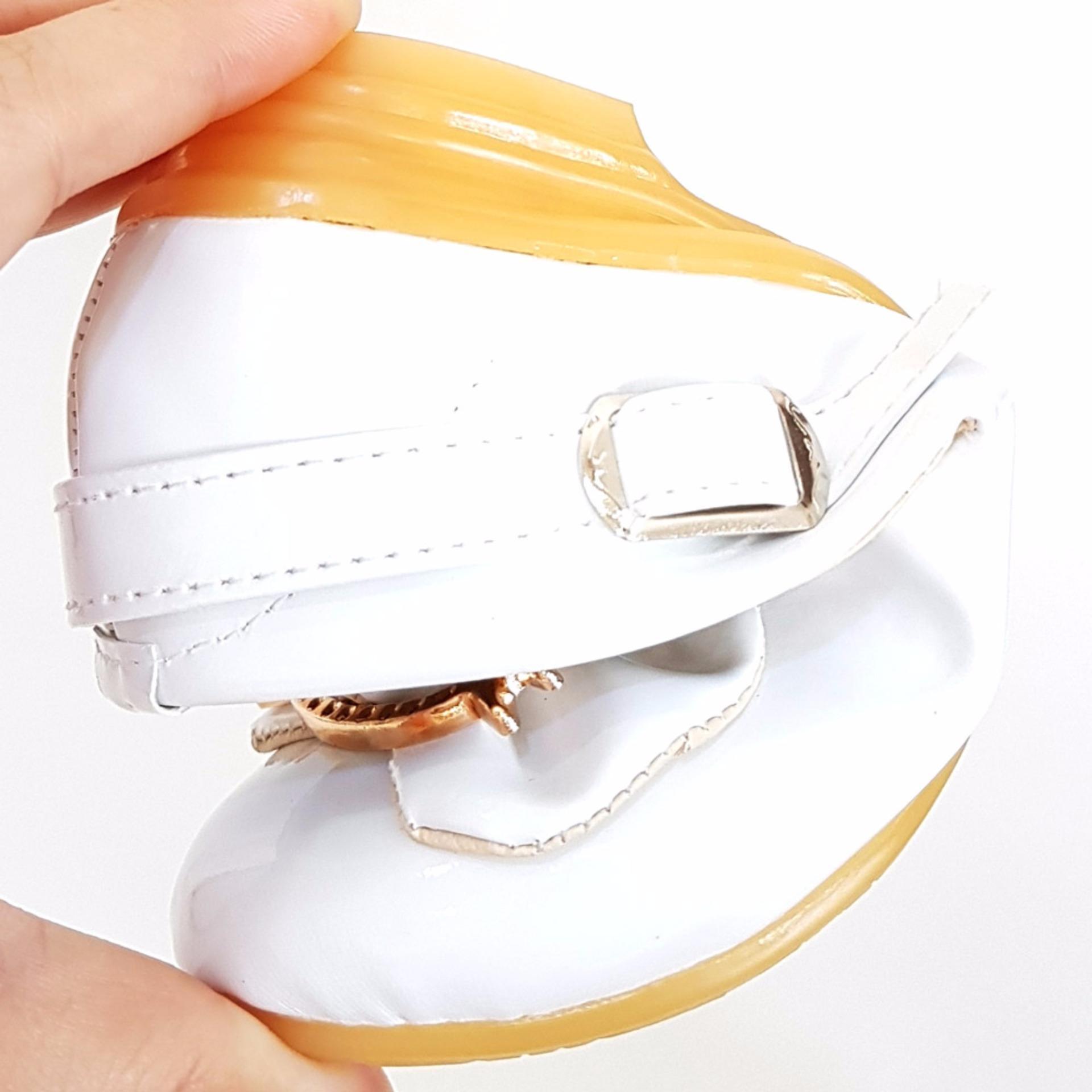 TrendiShoes Sepatu Anak Perempuan Cantik LNHK - Putih ...