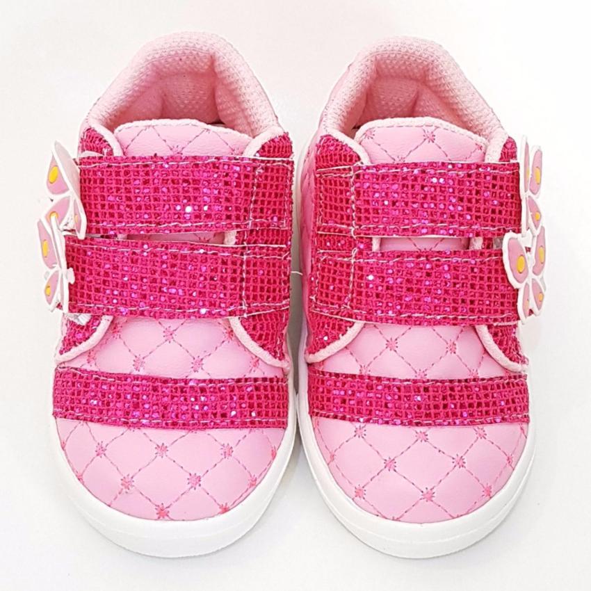 TrendiShoes Sepatu Anak Perempuan KPWJ - Pink Fuchsia .