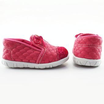 thumbs TrendiShoes Sepatu Bunyi Anak Bayi Perempuan Slip On Pita 032AG -  Fuchsia . 13882dfb6d