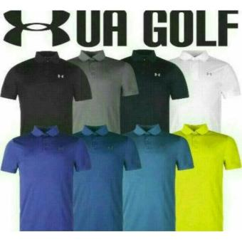 Tshirt Terlaris Ua Golf-Distro Murah-Kaos Polo Shirt Under Armour