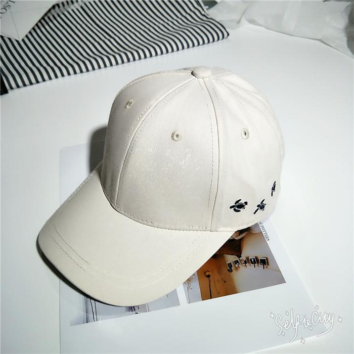 Tuan Korea Fashion Style bordir untuk pria dan wanita musim panas topi  bisbol topi topi ( cefb631aac
