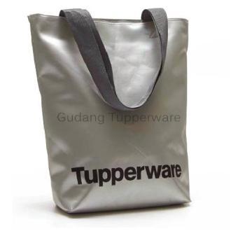 Tupperware Silver Tote Bag - Tas Cantik Serbaguna
