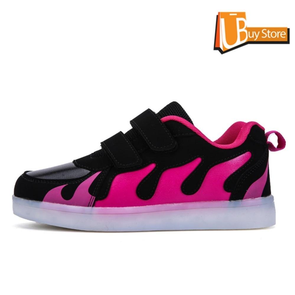 ... Ubuy 2017 Children Boys Girls Running Fire shoes Luminous Sneakers Led Light Up Kids sneaker( ...