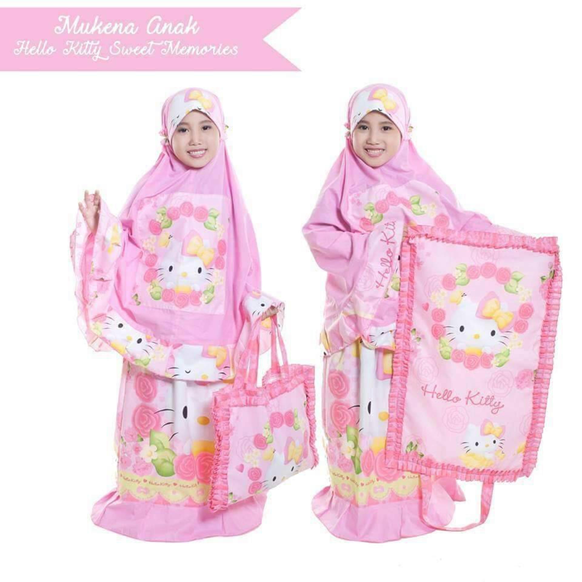 Ukhuwah Mukena Anak Putih Daftar Update Harga Terbaru Dan Bordir Homemade Hafsyah Cheap Online Pink