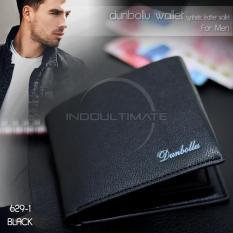 Ultimate Dompet Pria Kulit Sintetis Import/Slim/Tempat Uang/Fashion Men Short Wallet IM FS 6291 - Black